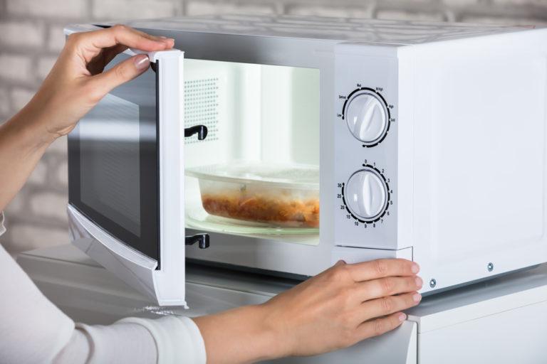 microwaved food