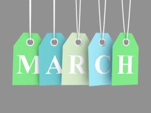 March Sales