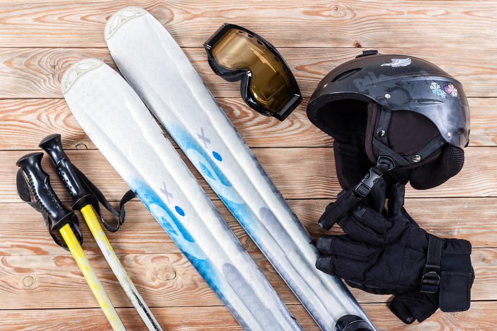 winter sport gear